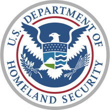 US Department of Homeland Security Seal