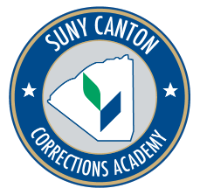 SUNY Canton Corrections Academy badge
