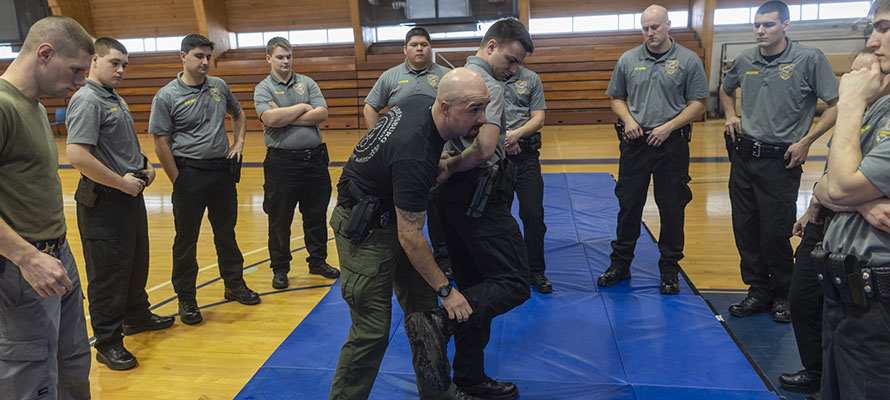SUNY Canton Law Enforcement Academy Adds Officer Wellness Training