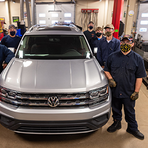 Volkswagen Donates Atlas SUV to SUNY Canton's Automotive Technology Program
