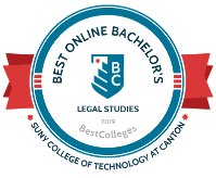 Best Online Bachelor's - Legal Studies