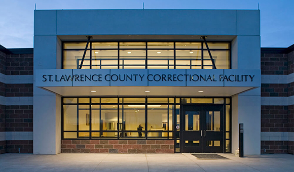 St. Lawrence County Correctional Facility entrance
