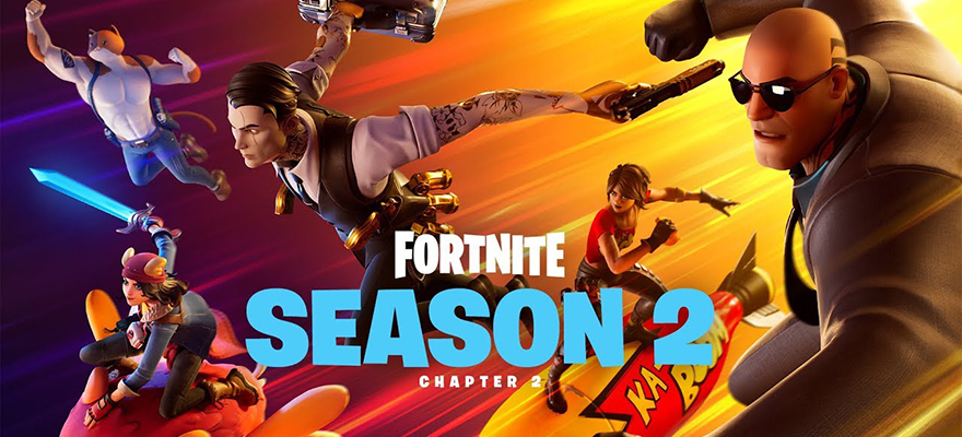 Fortnite Season 2 logo