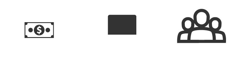 Infographic: Raised $1,752,800 from 1,100+ donors, Purchased computers for students without adequate IT resources, Awarded 347 scholarships, totaling $465,000