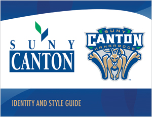 SUNY Canton Identity and Style Guide cover