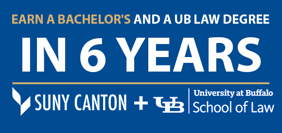 Earn a Bachelor's and a UB Law Degree in 6 Years